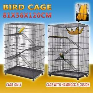 4 Level Bird Cage Ferret Pet Cat Hamster Rat Budgie Stainless Thomastown Whittlesea Area Preview