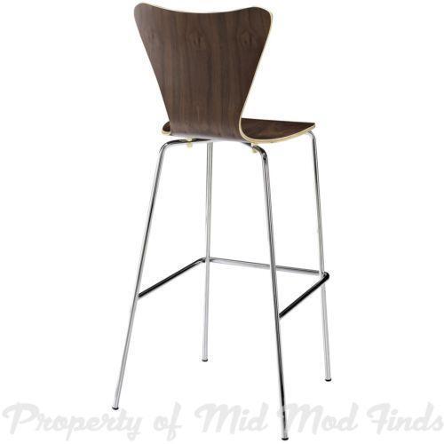 Mid century modern bar stools ebay
