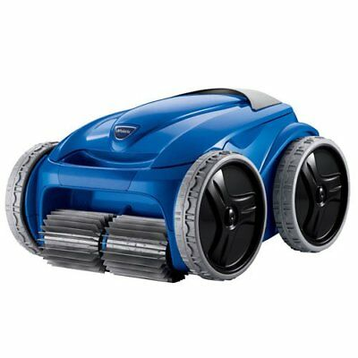 Polaris 9550 Sport Robotic Inground Swimming Pool Cleaner w/ Remote & Caddy Cart