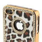Leopard Rhinestone iPhone 4 Case