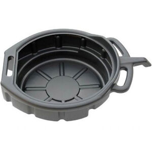 OIL / COOLANT / FUEL DRAIN PAN TRAY 16 LITRE CAPACITY BUCKET UNDER CAR VAN TOOL