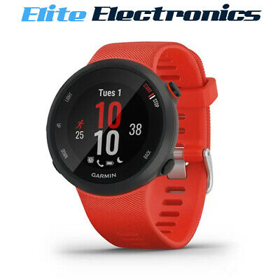 Garmin Forerunner 45 GPS Sports Smart Watch Large Lava Red