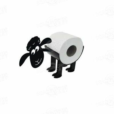 Bad WC Deko SCHAF Ständer Toilettenpapier Rollenhalter Toilettenrollenhalter