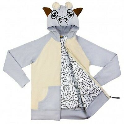 Star Wars TAUNTAUN hoodie costume cosplay zip up M-L-XL  - RUNS - Star Wars Costume Hoodie