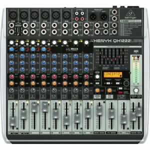 BEHRINGER QX1222USB Xenyx 16 channel Mixer-NEW IN BOX