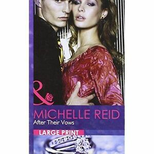 Michelle Reid, After Their Vows (Romance Lp), Very Good Book