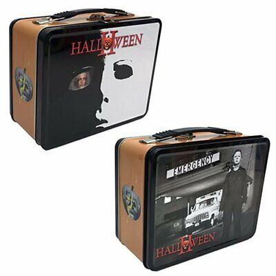 Halloween 2 Michael Myers Tin Tote Lunchbox Horror New - Halloween Lunch Box