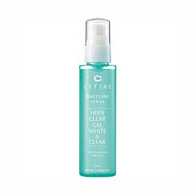 Cefine Japan Herb Clear Gel White & Clear Brightening Peeling Gel 120ml