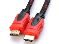 HDMI Cable Premium Braided 1.5 Metre HDTV 1.4V High Speed 3D 1080P 4K 1.5M