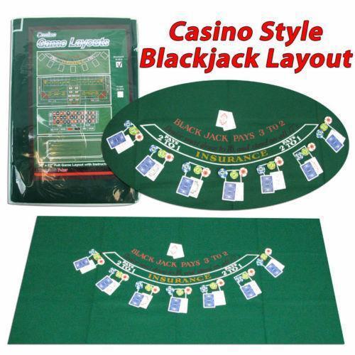 Blackjack Felt: Tables, Layouts | EBay