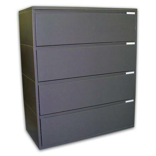 File Cabinets - Lateral  Drawer Wood Locks