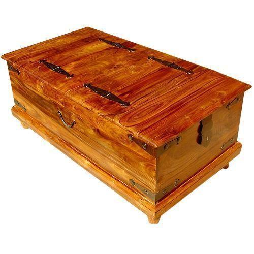 Charmant Storage Trunk Coffee Table | EBay