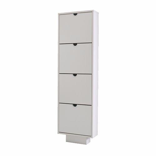 Bon Ikea Brand New White Shoe Storage Cabinet Wall Mounted Tall Slim