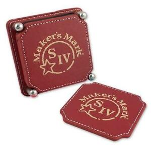 leather drink coasters - Drink Coasters