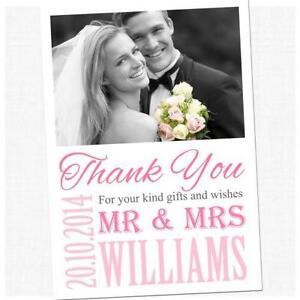 50 wedding thank you cards