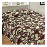 log cabin bedding