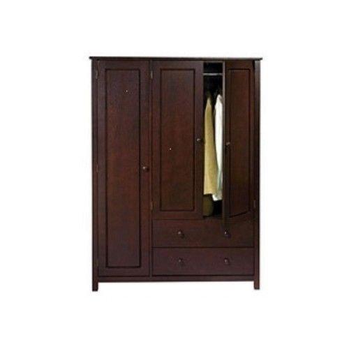 Wood Wardrobe Closets