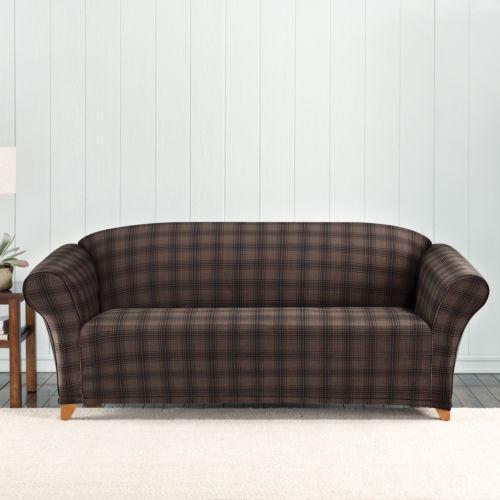 Plaid Sofa   EBay