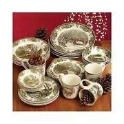 Cabin Dinnerware  sc 1 st  eBay & Moose Dinnerware | eBay