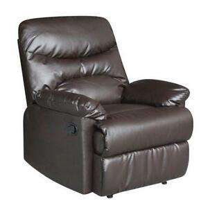 Brown Leather Recliner  sc 1 st  eBay & Leather Recliner: Furniture | eBay islam-shia.org