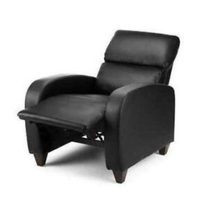 Black Leather Recliner Chairs  sc 1 st  eBay & Leather Recliner Chair | eBay islam-shia.org