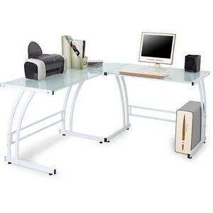 glass executive desks