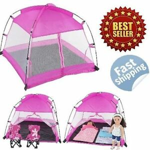 American Girl Dolls Accessories Canopy C&ing Tent Dining Tent Fits 18  sc 1 st  eBay : accessories for tents - memphite.com