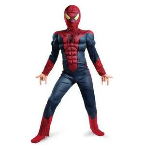 Spiderman Costume Kids Deluxe  sc 1 st  eBay & Spiderman Costume Kids | eBay