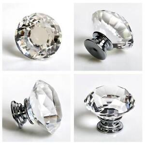 crystal kitchen cabinet knobs