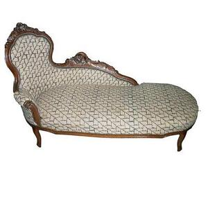 Incroyable Antique Fainting Couch