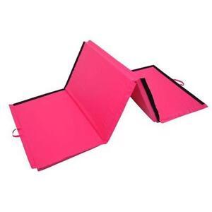 pink gymnastics mat