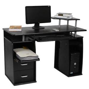 Black Home Office Desk