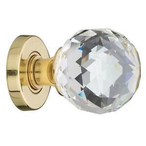 Glass Door Knobs Brass