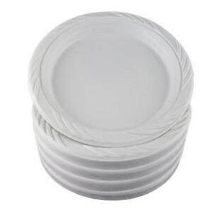 Disposable Plastic Plates  sc 1 st  eBay & Disposable Plates | eBay