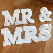 decorative wooden letters