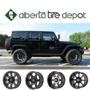 LOWEST Price JEEP Tires Rims Winter AT MT Wrangler Cherokee SRT Compass  Renegade 295/70R17