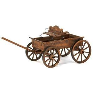 Wooden Garden Carts