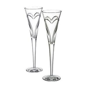 waterford toasting flutes love - Waterford Champagne Flutes