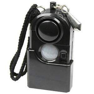 Camping Travel Portable Mini PIR Infrared Motion Sensor Detector Alarm