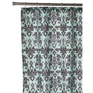 Exceptionnel Blue Damask Curtains