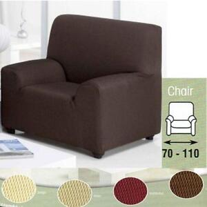 Arm Chair Covers Brown