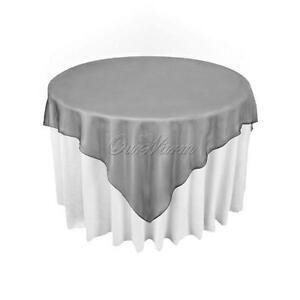 Black Table Overlay