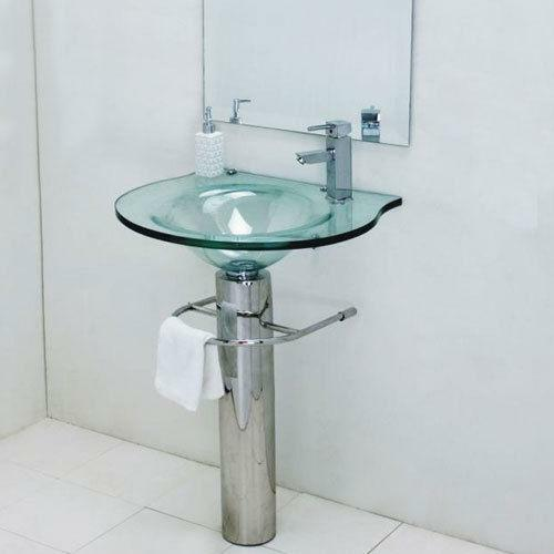 Glass Pedestal Sink | EBay