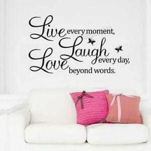Beau Live Laugh Love Wall Decor