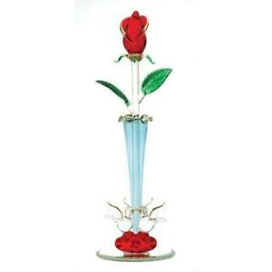 Glass Stem Roses