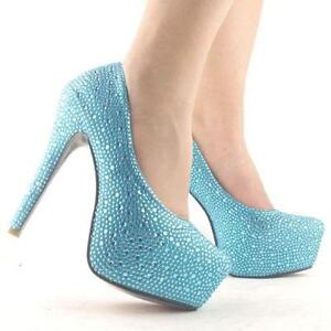 Nice Light Blue Wedding Shoes