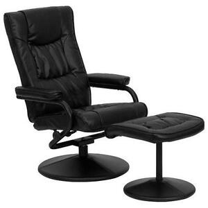 Black Leather Recliner  sc 1 st  eBay : ebay leather recliners - islam-shia.org