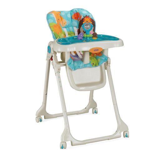 Fisher-price Precious Planet Sky Blue High Chair