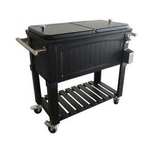 Lovely Rolling Patio Cooler