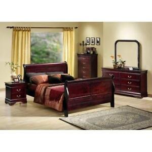 queen sleigh bedroom set